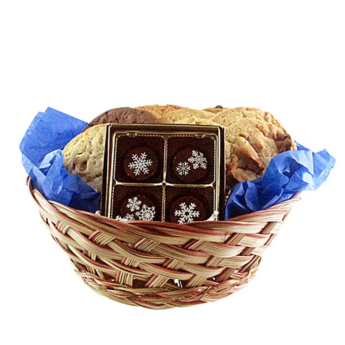 christmas-cookies_cookies-and-snowflake-truffles-gift-basket